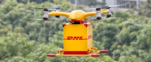 dron-de-dhl-express