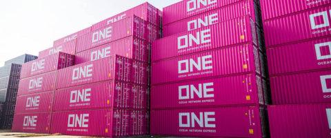 NYK, MOL y K-Line han unido esfuerzos mediante la alianza ONE.