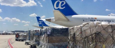 carga aerea air europa