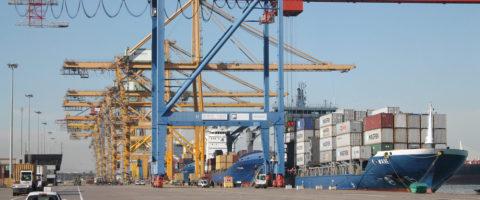 terminal Noatum del puerto de Valencia contenedores