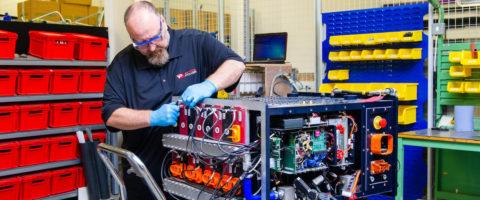 Fabricacion de baterias en Vantage Power