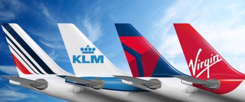 Joint venture de Air France-KLM, Delta y Virgin Atlantic
