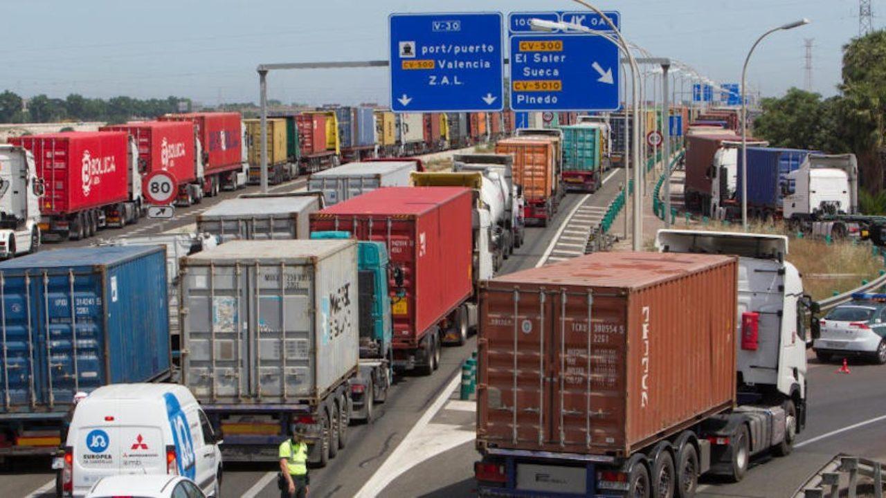 Transportes encarga trabajos para mejorar la capacidad del enlace de acceso  al puerto de Valencia - Cadena de Suministro
