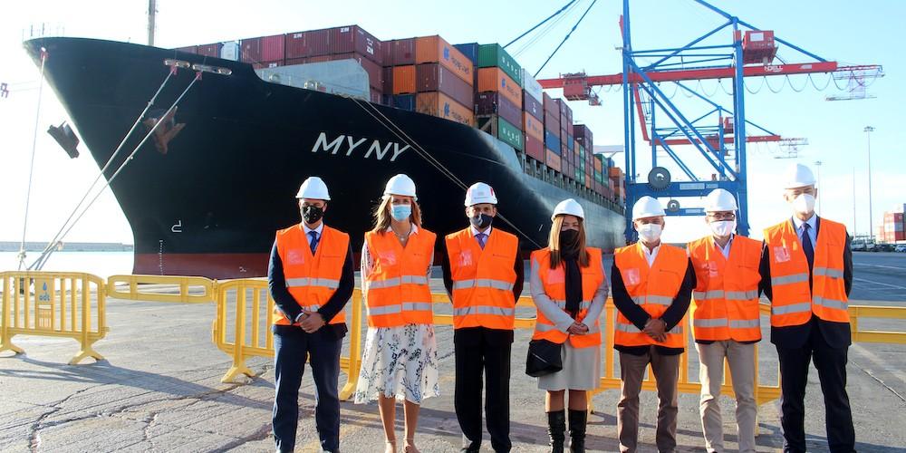 Nueva escala de Hapag Lloyd en el puerto de Málaga 2