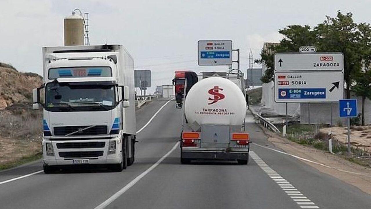 Restricciones de circulación hasta el 5 de febrero para camiones - Cadena  de Suministro