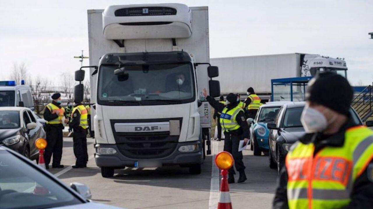 Los controles fronterizos en Alemania incrementan las esperas de los  camiones en un 30% - Cadena de Suministro