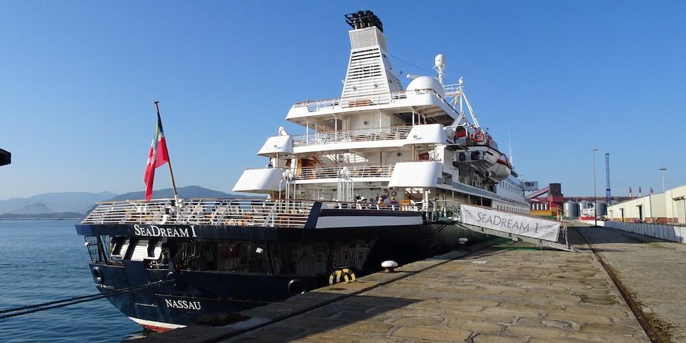 Crucero SeaDream puerto Santander